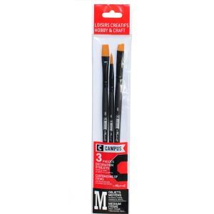Set 3 pensule Raphael Hobby M