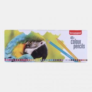 Set creioane colorate Bruynzeel Parrot 45