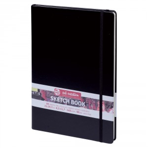 Bloc de desen Art Creation Sketch Book Black