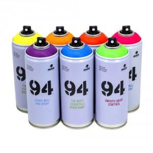 Spray vopsea MTN 94 Fluo