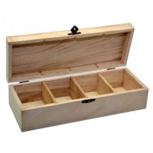 Cutie lemn compartimentata