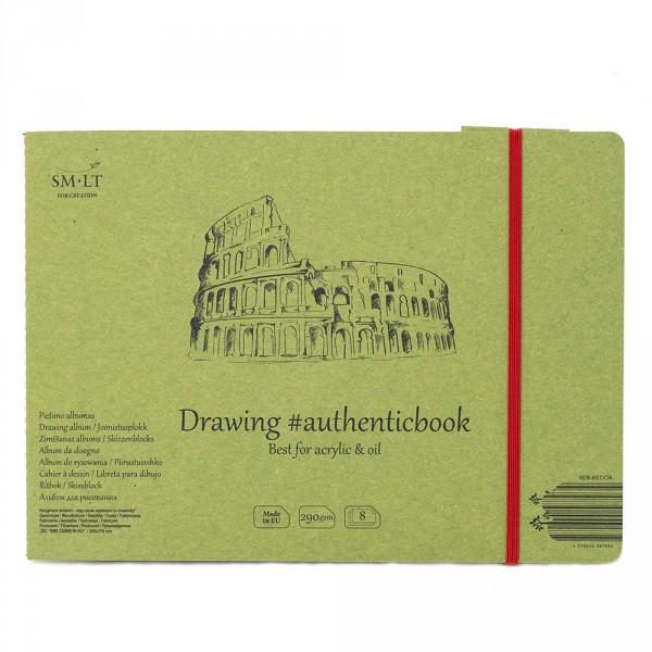 Caiet de desen #authenticbook Acrylic 8x290gr