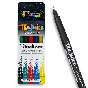 Set 5 markere Tee Juice Fineliner