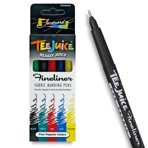 Set 5 markere Tee Juice Fineliner