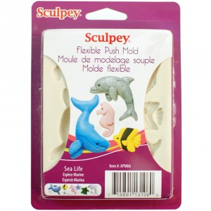Matrita Modelaj Sculpey ''Sea life''