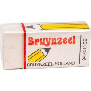 Radiera Bruynzeel Medium Eraser D36