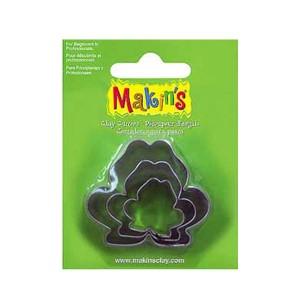 Set 3 forme modelaj Makin's Broscute