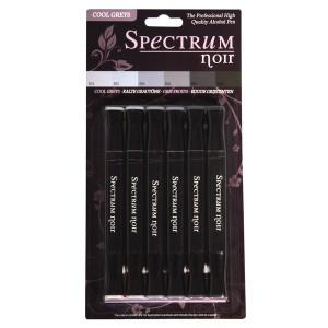 Set 6 carioci Spectrum - gri rece