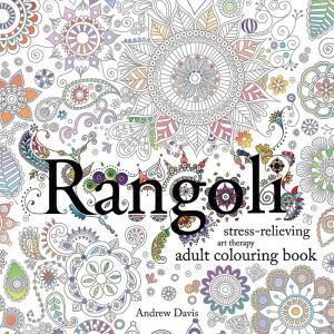 Carte de colorat - Rangoli