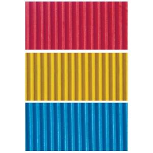 Carton ondulat colorat Rayher