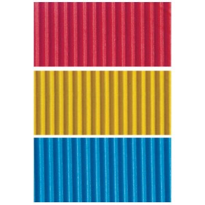 Carton ondulat 50 x 70 cm diferite culori
