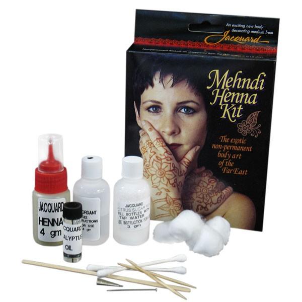 Kit Henna Jacquard