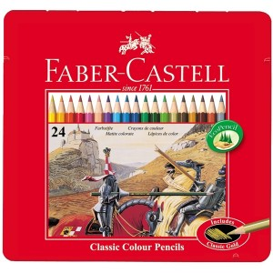 Set creioane colorate Faber Castell Classic