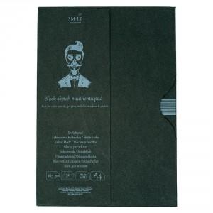 Sketch pads Authentic Black in folder 30x165gr A4