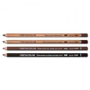 Creioane Cretacolor Sepia