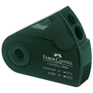 Ascutitoare dubla Castell 9000 verde