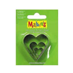 Set 3 forme modelaj Makin's inimi