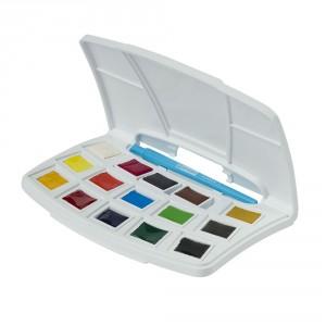 Set acuarele Art Creation Pocket Box 12+3 Pans