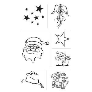 "Set 7 stampile decorative ""Craciun"""