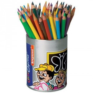 Set 48 creioane colorate Bruynzeel Color Super Pencils