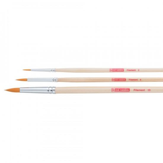 Set pensule sintetice Art Creation 2-6-10