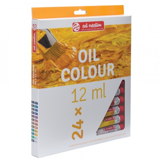 Set culori ulei Art Creation 24 x 12ml