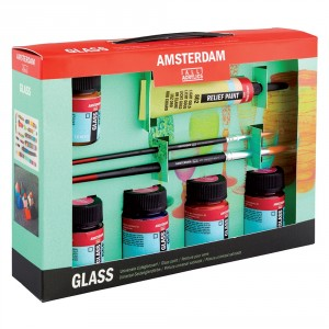 Set culori pt. sticla Amsterdam Glass Starter Set