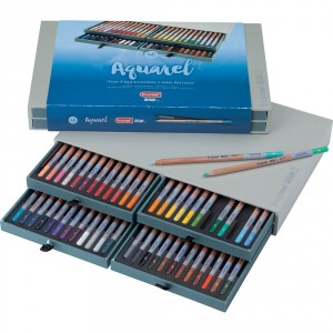 Seturi creioane Bruynzeel Design Watercolor Box