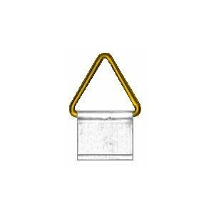 Agatatori triunghi aluminiu