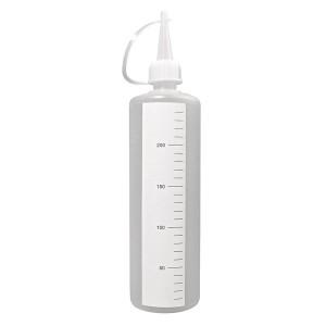Flacon plastic 250 ml. cu gradatii