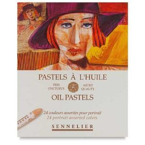 Set pastel gras Sennelier Portrait 24