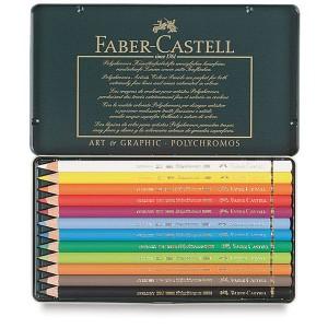 Set creioane colorate Polychromos