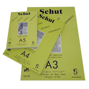 Bloc desen Schut Sketch 125 gr/mp