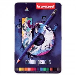 Set creioane colorate Colour Pencils Dark 12