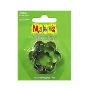 Set 3 forme modelaj Makin's Flori