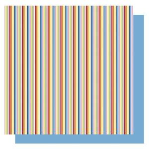 Hartie origami Stripes - dungi colorate