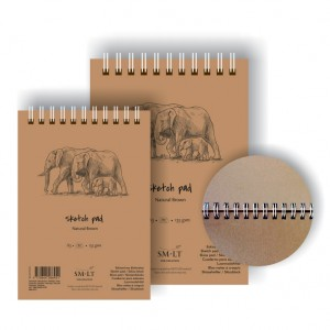 Bloc desen Sketch pads Authentic Brown 135gr