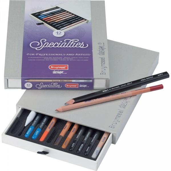 Set creioane Bruynzeel Design Specialties Box 12