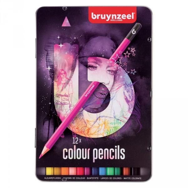 Set creioane colorate Colour Pencils Light 12