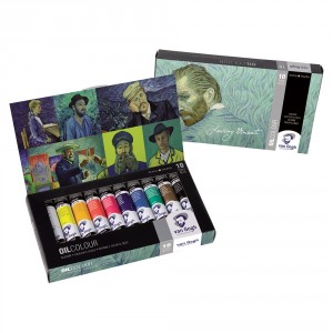 Set culori ulei Van Gogh Loving Vincent 10 x 40 ml
