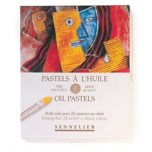 Cutie din carton pentru pasteluri Sennelier