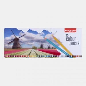 Set creioane colorate Bruynzeel Holland 45