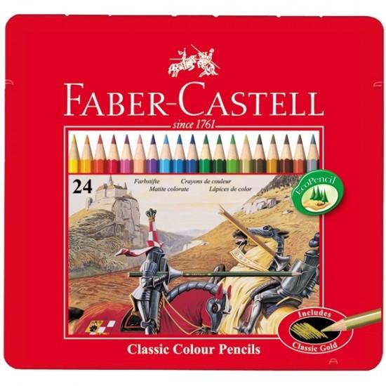 Set 24 creioane colorate Classic
