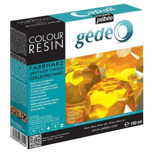 Rasina colorata Gedeo - Topaz 150 ml.