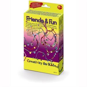 Set creativitate bratari si coliere Friends & Fun