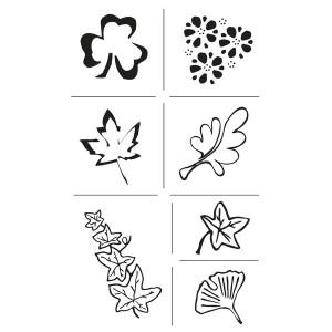 Set stampile decorative - frunze