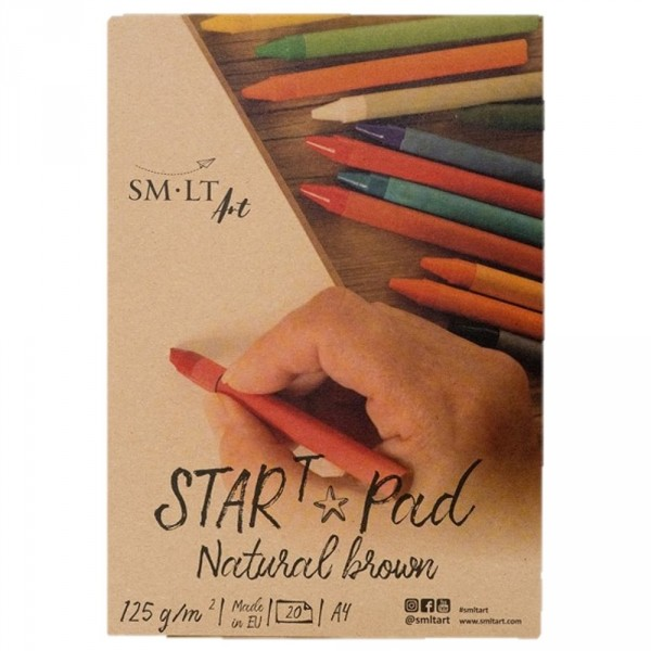 Bloc desen Kraft sketch pad START