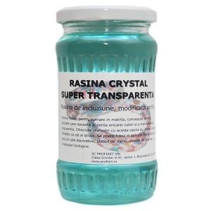 Rasina poliesterica super transparenta Crystal
