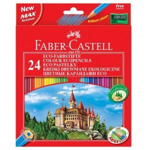 Seturi creioane colorate Faber-Castell Ecopencils