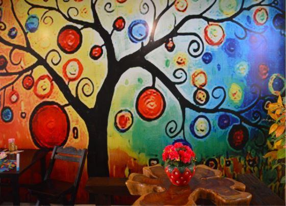 Pictura murala - cum o poti folosi pentru camera copilului?